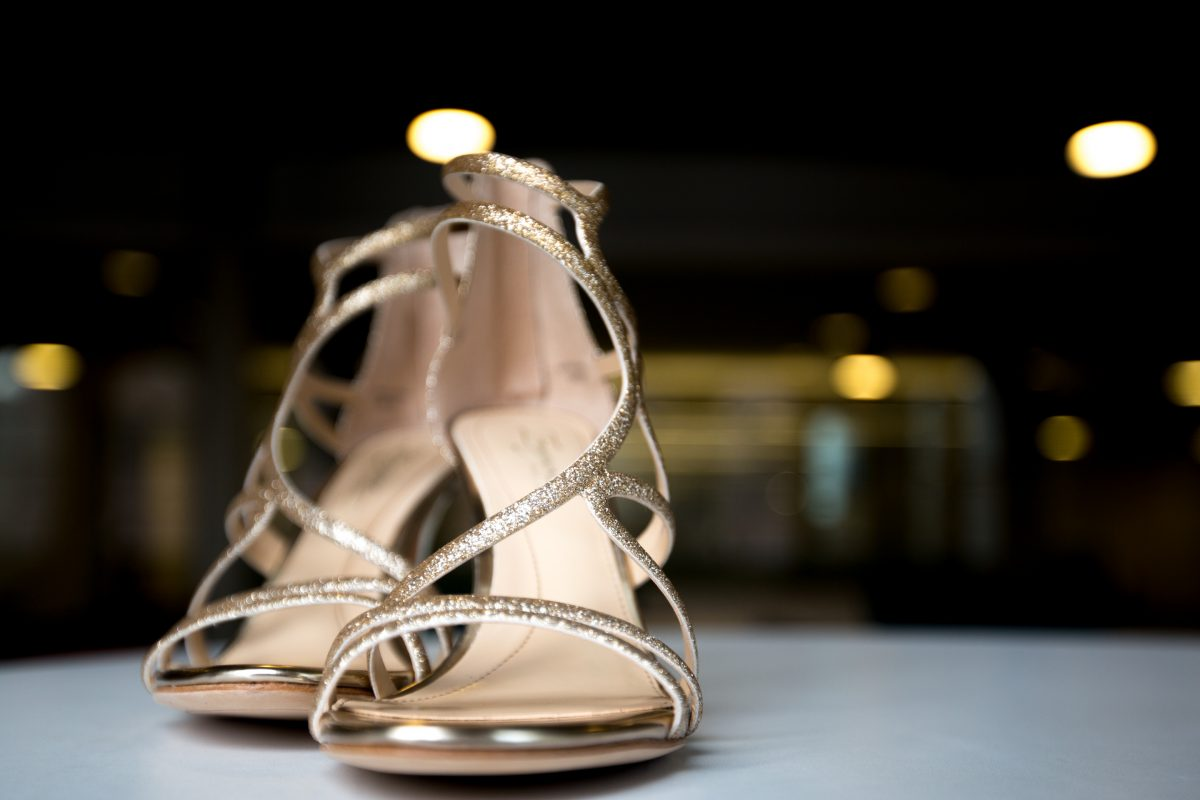 These Vince Camuto shoes are available at Bloomingdale's and are $150.