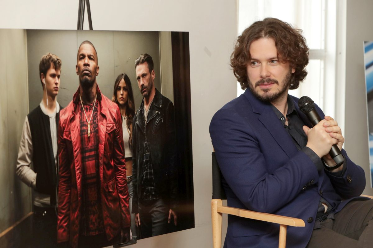 """""""Baby Driver"""": Edgar Wright — writer / director / executive producer — at 2017 SXSW Festival BBQ and Q&A at Freedmen´s in Austin, Texas, on Saturday, March 11, 2017. (Photo by Eric Charbonneau/Invision for TriStar Pictures/AP Images)"""