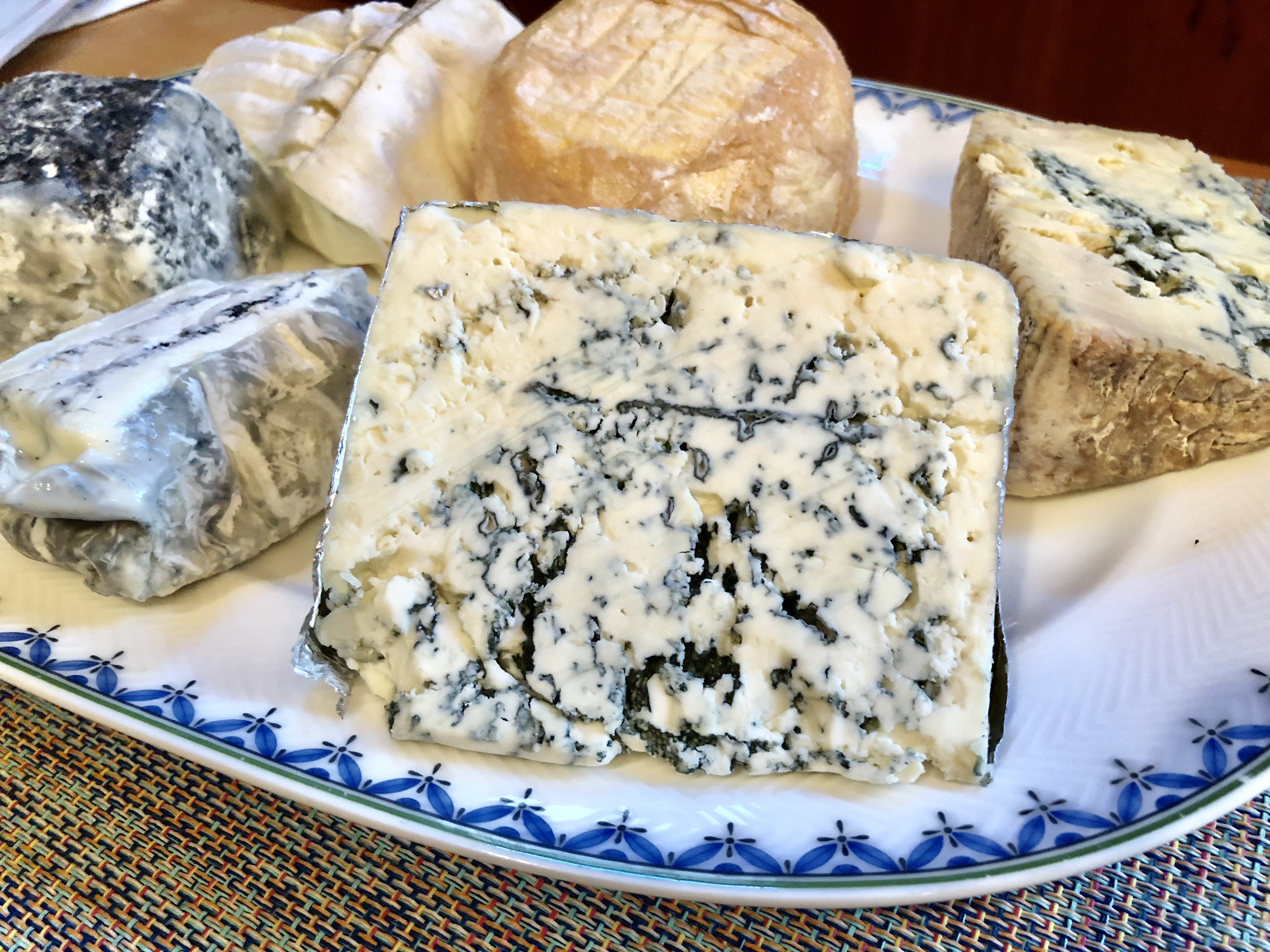 Buttermilk Blue, a raw milk cheese from Wisconsin, is a versatile and approachable cheese that can still stand out on any cheese platter.