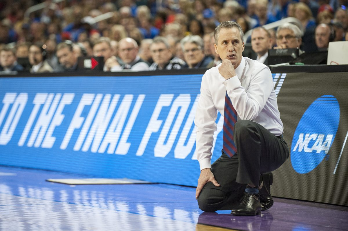 Penn Quakers head coach Steve Donahue coached against Villanova in the regular season and Kansas in the NCAA tournament.
