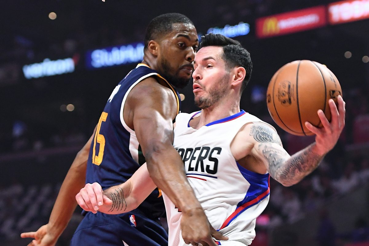 The Sixers got their man in Markelle Fultz, but still need a perimeter threat such as free agent J.J. Redick (right).
