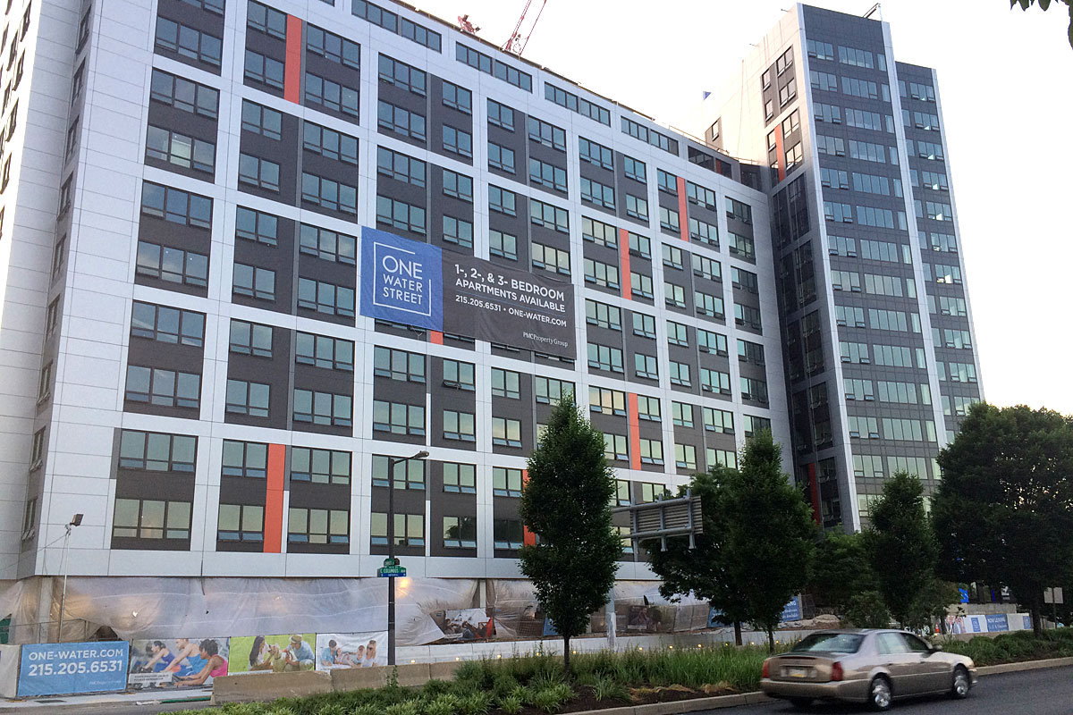 PMC, the developer of One Water Street, asked to be excused from its voluntary affordable housing obligation after being granted a five-story height bonus.