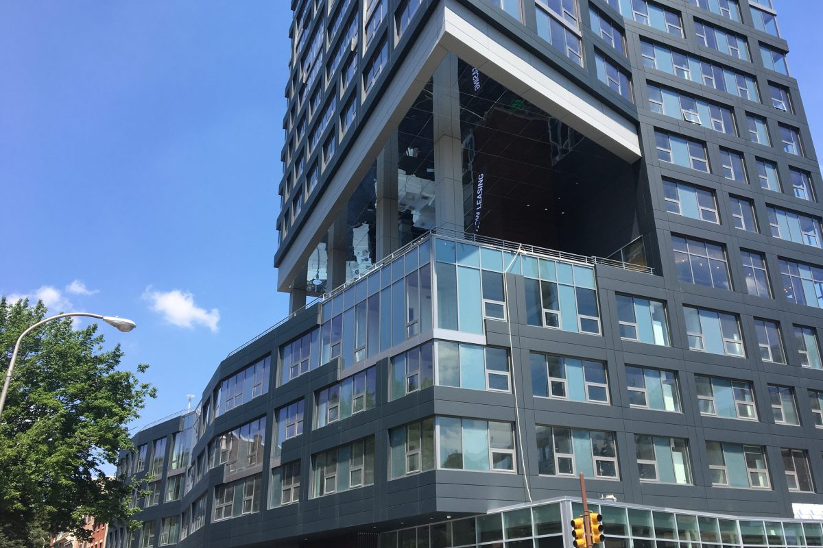 The Bridge at Second and Race was the first market rate project in Philadelphia to take advantage of the city's affordable housing bonus. It includes 15 reduced-price units.