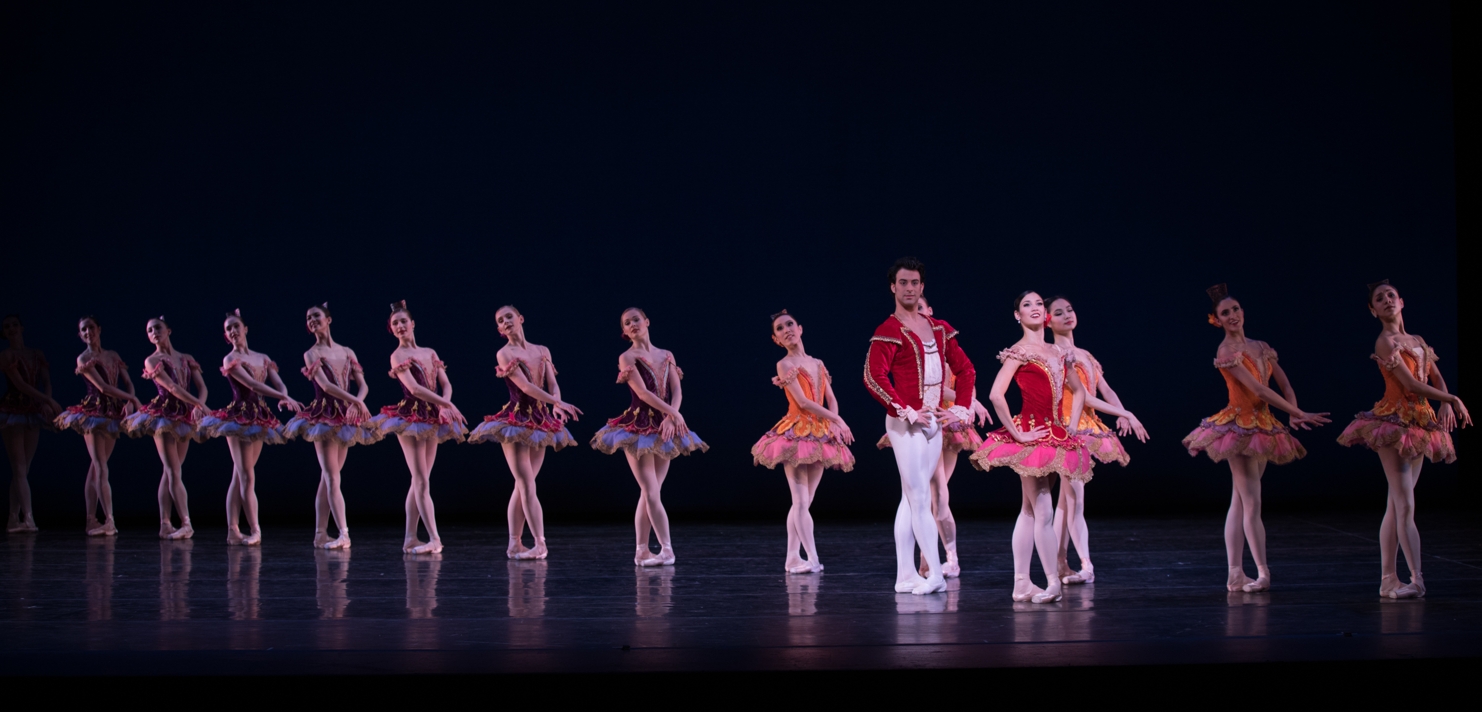 "Pennsylvania Ballet in ""Paquita,"" which features beautiful classical lines."