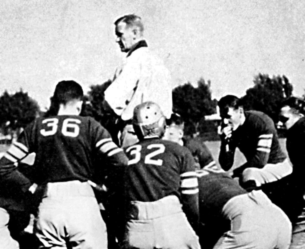 """George """"Cap"""" Baker coached football, basketball and baseball at Haddon Heights, where the old stadium with the concrete bleachers bears his name."""