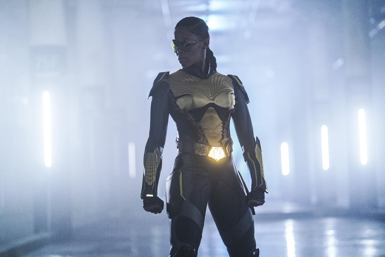 Nafessa Williams as Thunder in ´Black Lightning´