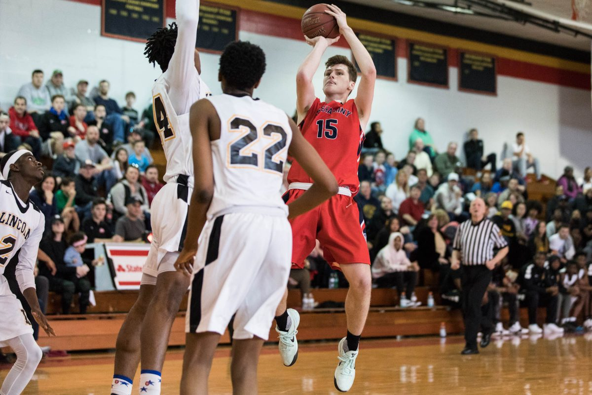 Neshaminy guard Chris Arcidiacono  will be playing at Under Armour events in Dallas (April 19-21) and Indianapolis (April 26-28).