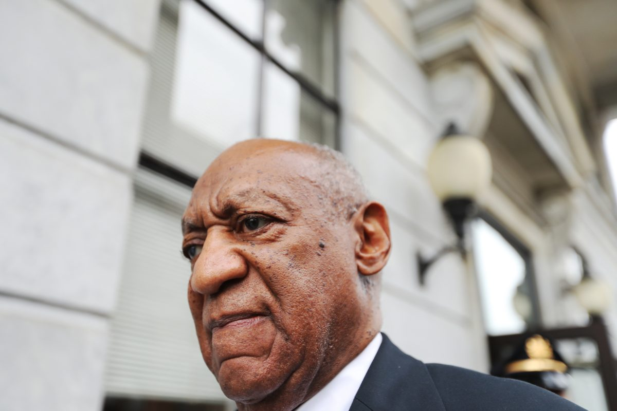 Bill Cosby after the mistrial was declared.