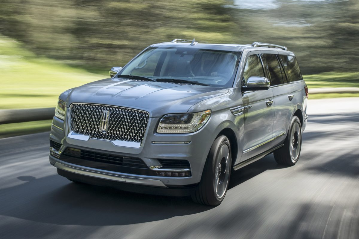 Demand is unexpectedly high for the 2018 Lincoln Navigator, Ford says.