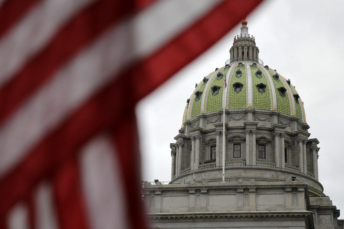 Pennsylvania has a budget shortfall of about $900 million.