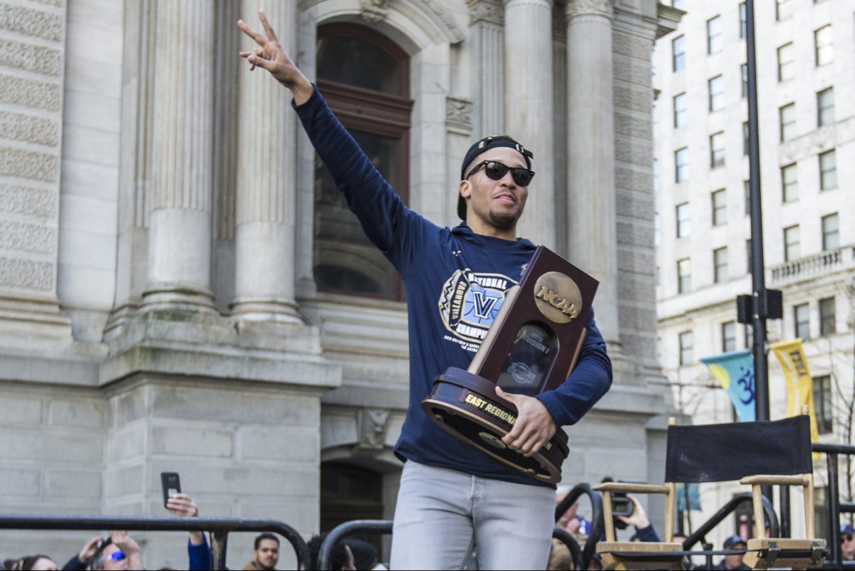 Villanova´s Jalen Brunson is the Big Five men's player of the year.
