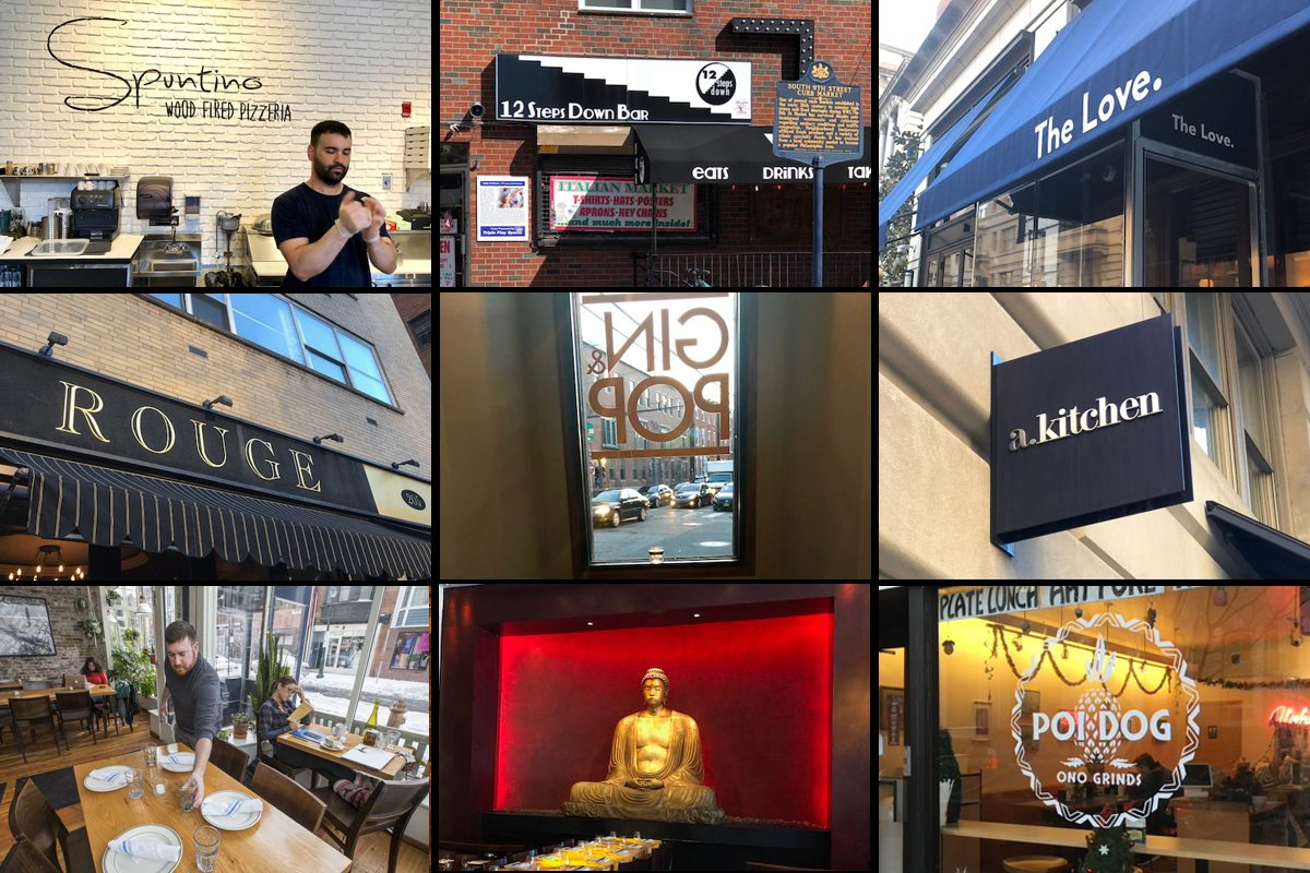 Restaurant owners put as much thought into the names of their restaurants as they do the look and food.