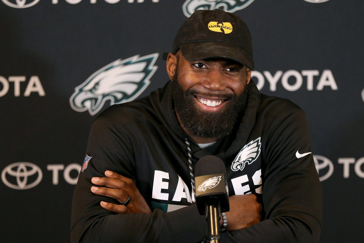 Malcolm Jenkins still looks forward to working with Michael Bennett, on and off the field, Jenkins said Tuesday.