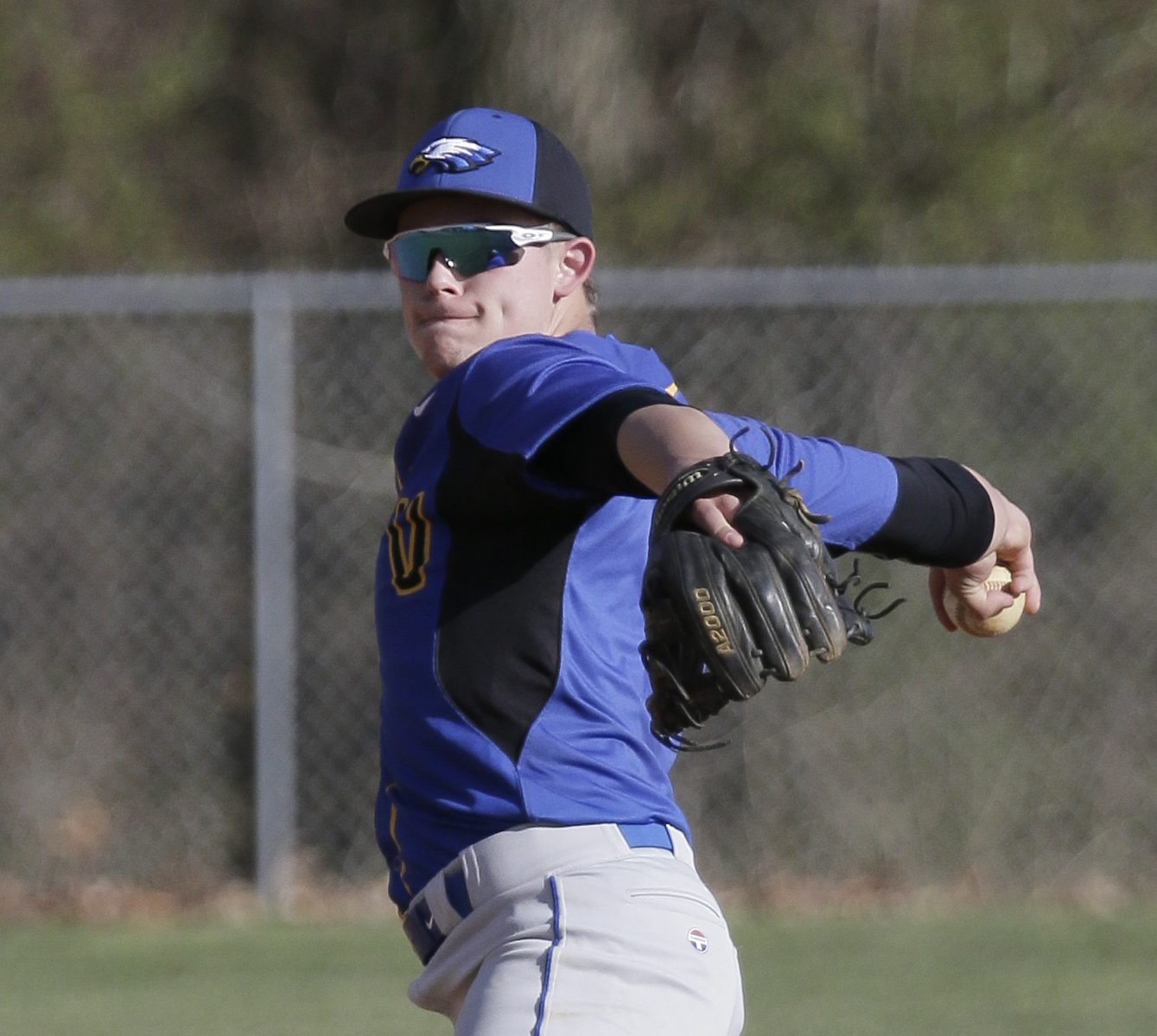 """Max Dineen has played infield, outfield and pitched for Pennsville. """"If I asked him to catch, I´d have the best catcher in South Jersey,"""" Coach Matt Karr said."""