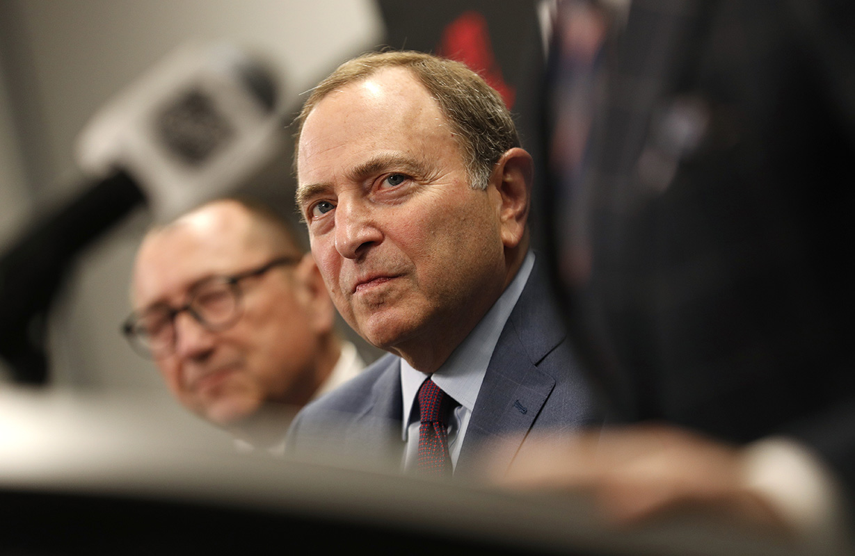 NHL Commissioner Gary Bettman has maxintained the same explanation xxx