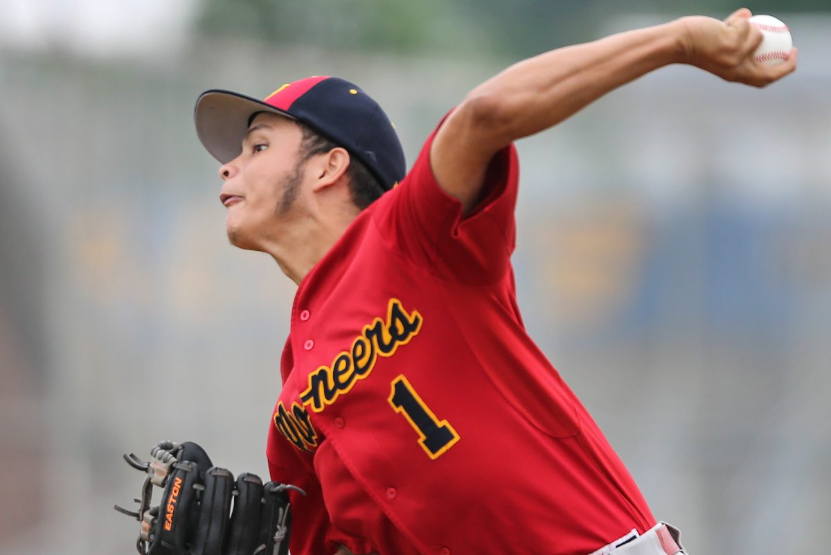 Frankford junior Luis Ramos is a rapidly improving pitcher.