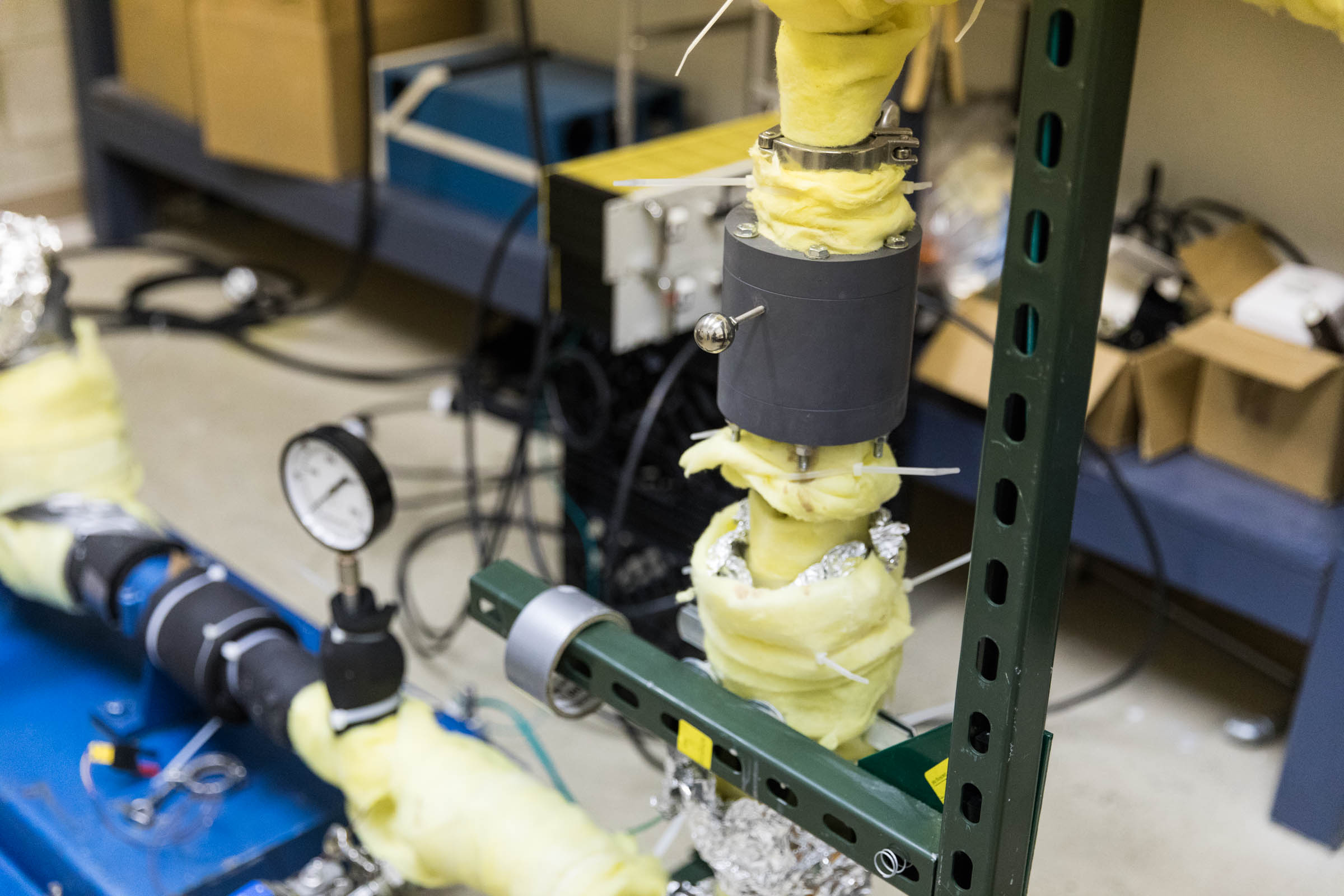 Improving the efficiency of pumping chocolate is the goal of this device resulting from a collaboration between Temple University and AmpTech Commercialization Center.