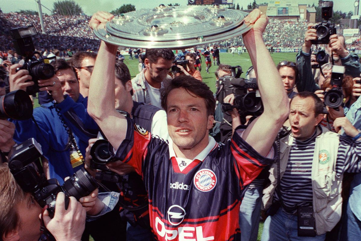 Lothar Matthaus won seven German Bundesliga titles with Bayern Munich, one Italian Serie A title with Inter Milan, and the 1980 European Championship and 1990 World Cup with Germany´s national team.
