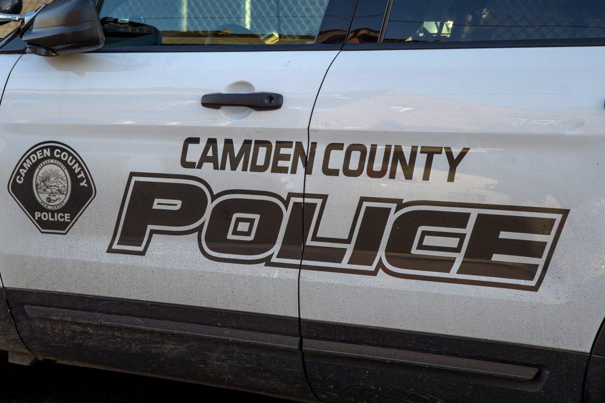 A Camden County Police Department patrol car.