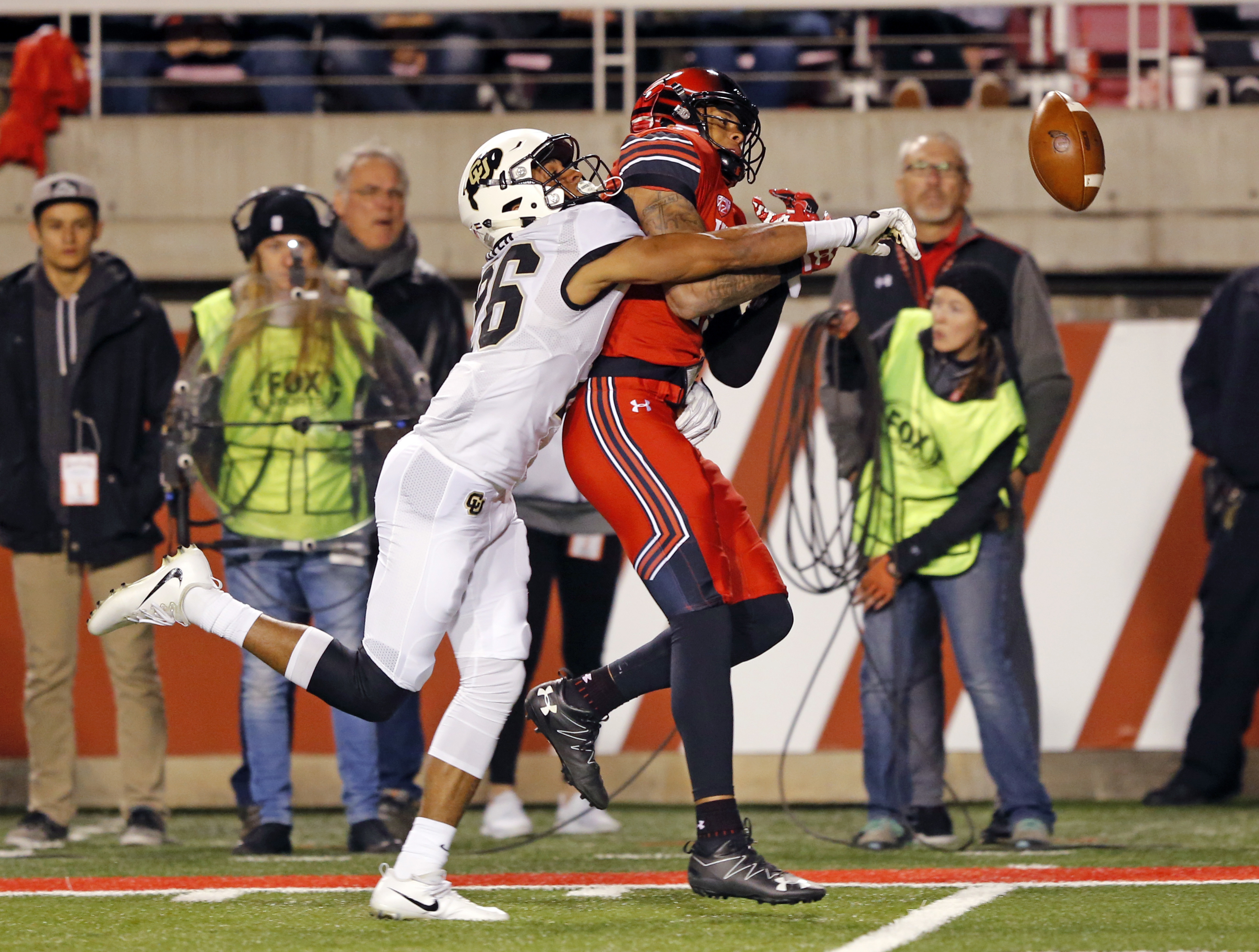 Defensive back Isaiah Oliver was also a track decathlete at Colorado.