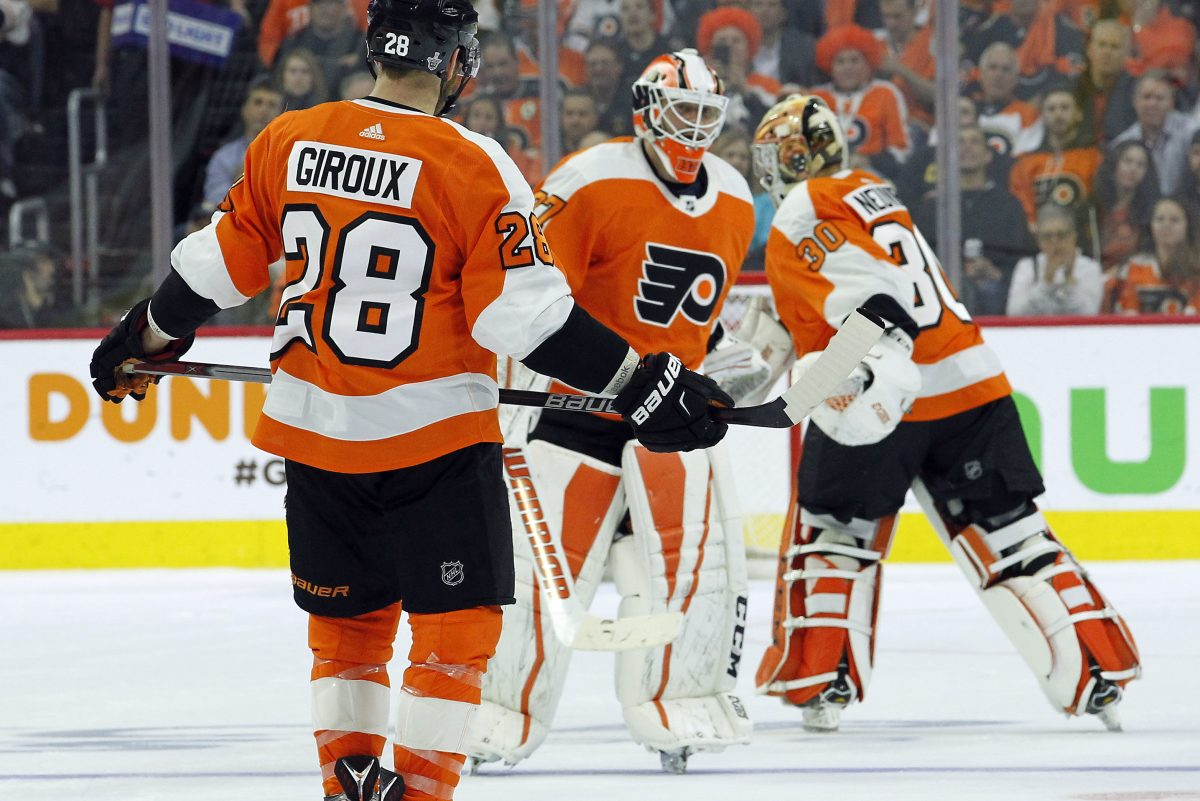 It's never a good sign when NHL teams have to change goalies during a playoff game.