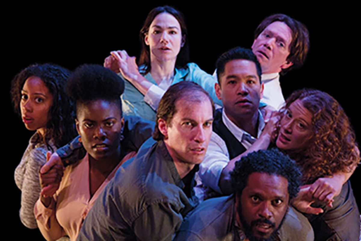 """The cast of Chritopher Chen's """"Passage,"""" through May 13 at the Wilma Theater."""