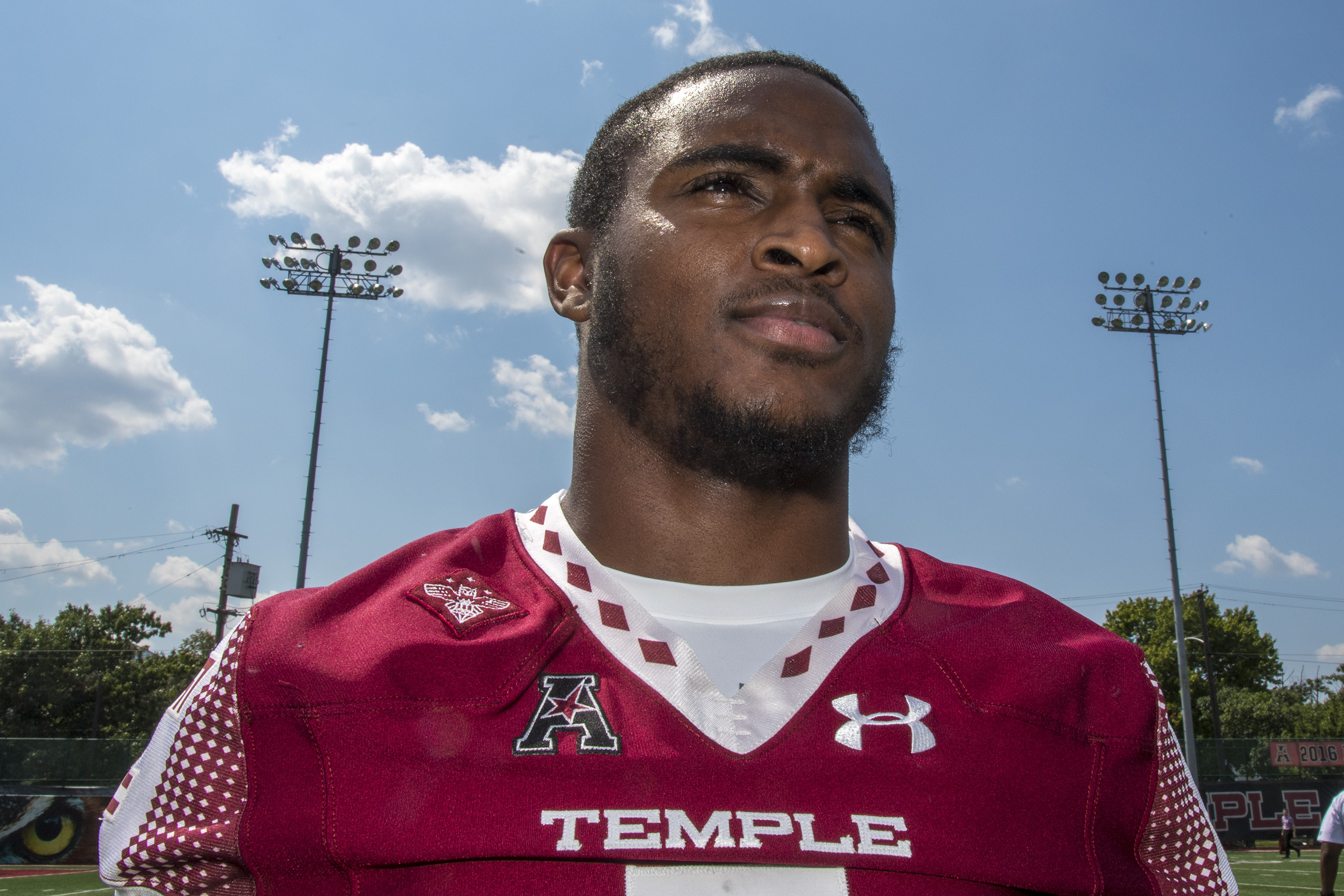 Sean Chandler during Temple's media day last July.