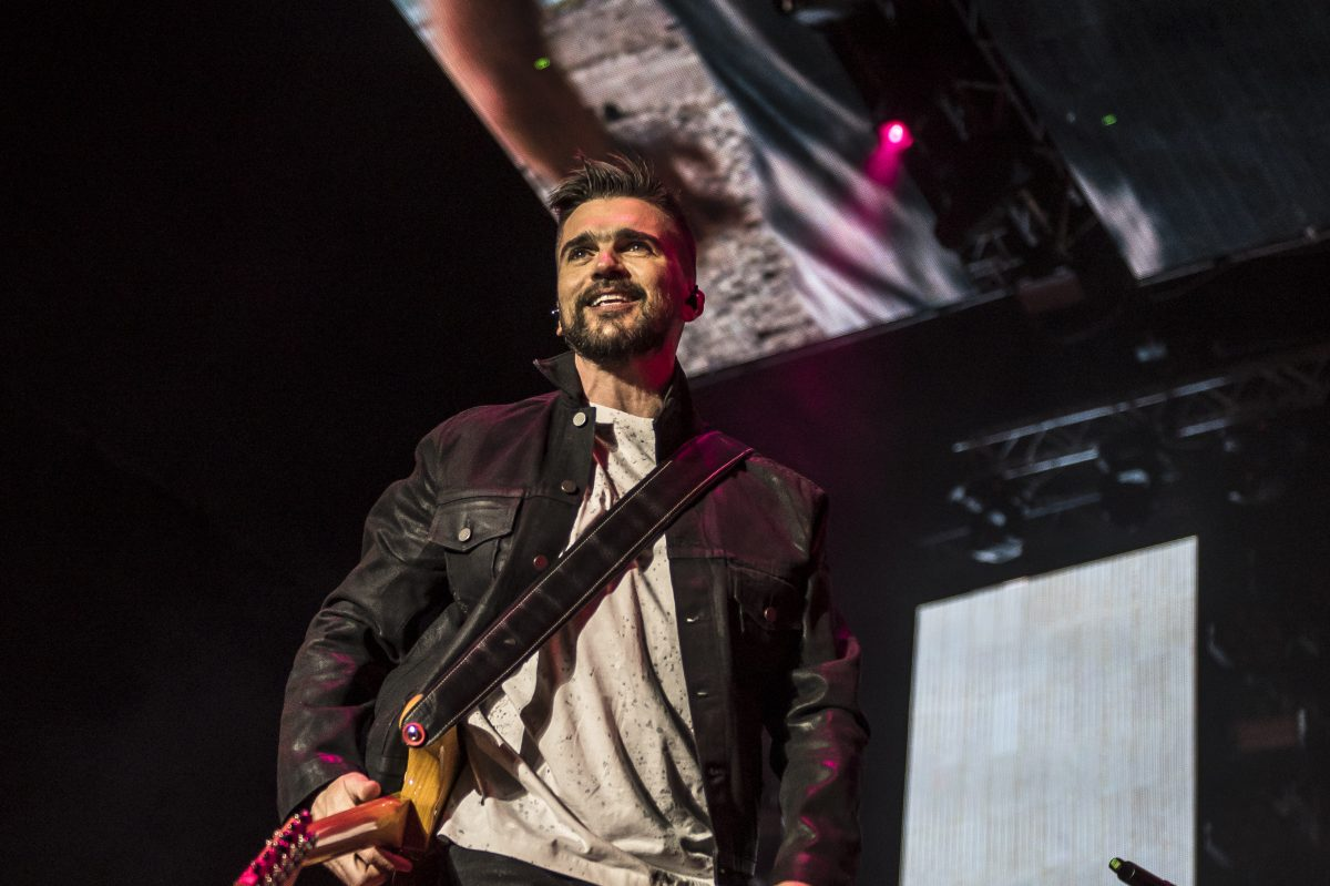 Juanes plays the Fillmore Tuesday
