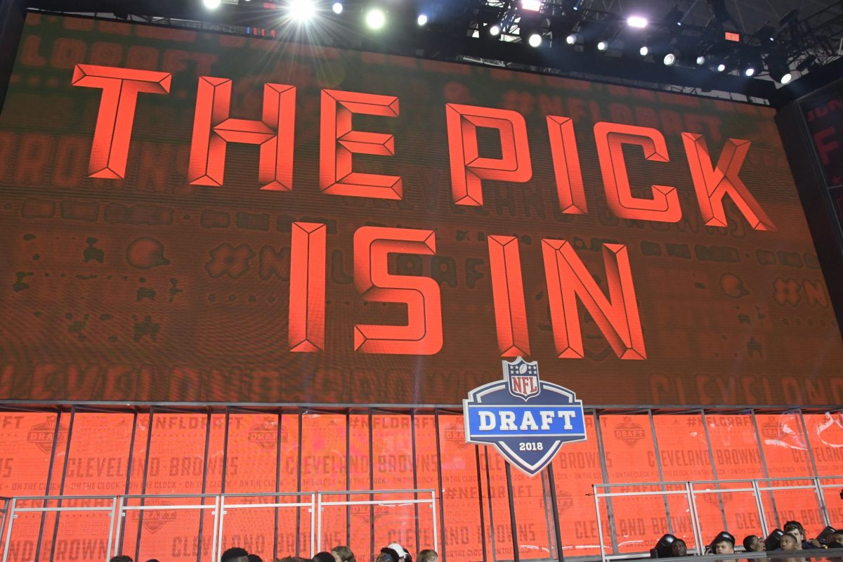 The Cleveland Browns selected Oklahoma quarterback Baker Mayfield as the first overall pick in the NFL Draft at AT&T Stadium in Arlington, Texas on Thursday.