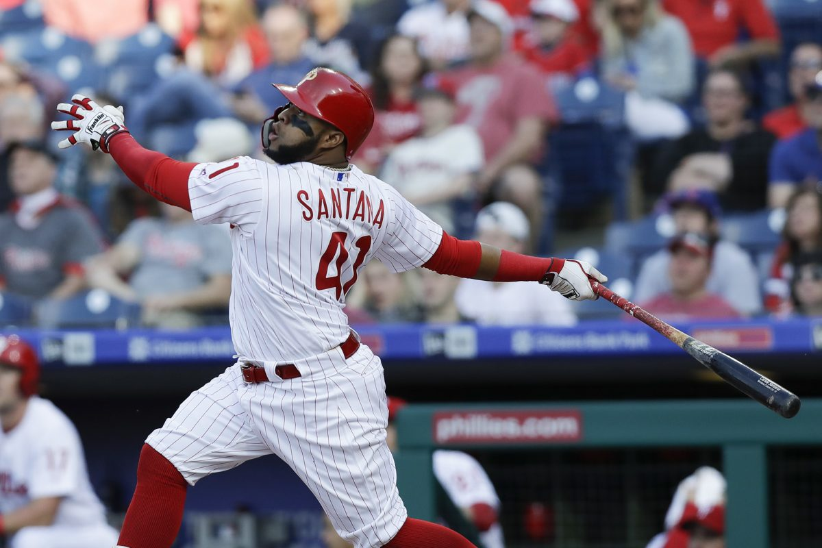Carlos Santana Takes The Fifth In Phillies New Look