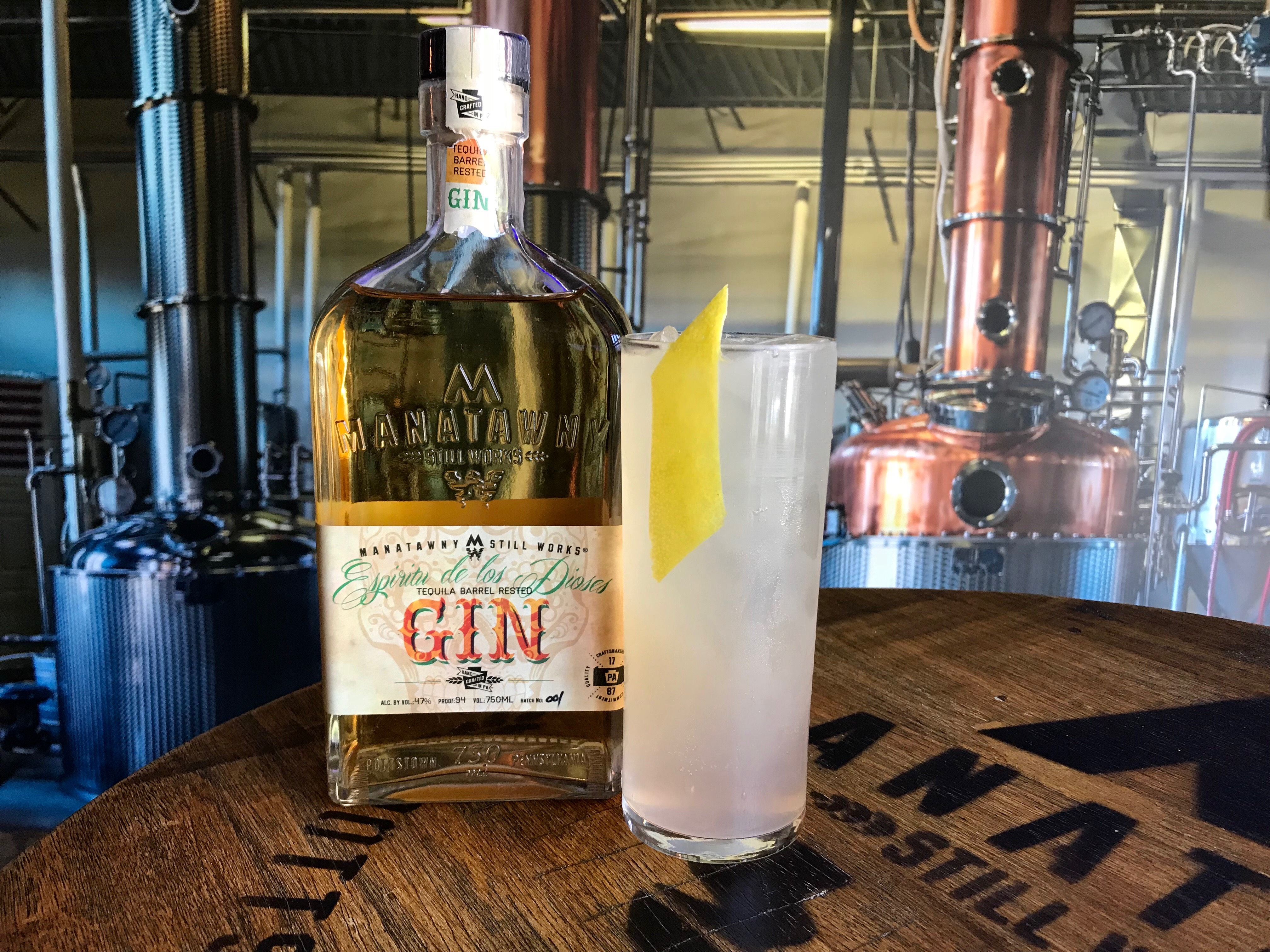 On Cinco de Mayo, Manatawny Still Works is offering drink specials, including this $10 Tequila Paloma made with their housemade Espirtu de los Dioses (tequila barrel-rested Odd Fellows gin).