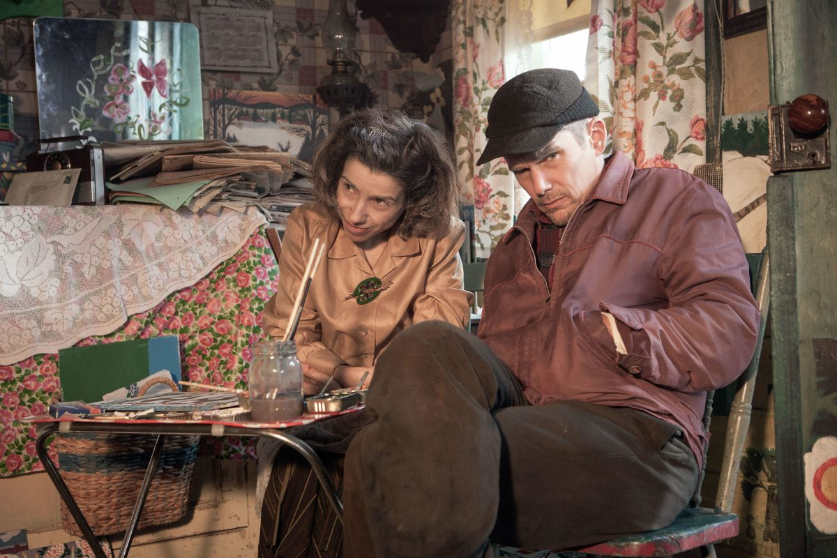 """Maudie:"" Sally Hawkins as Maud Lewis and Ethan Hawke as Everett Lewis. (Photo: Duncan Deyoung / Sony Pictures Classics)"