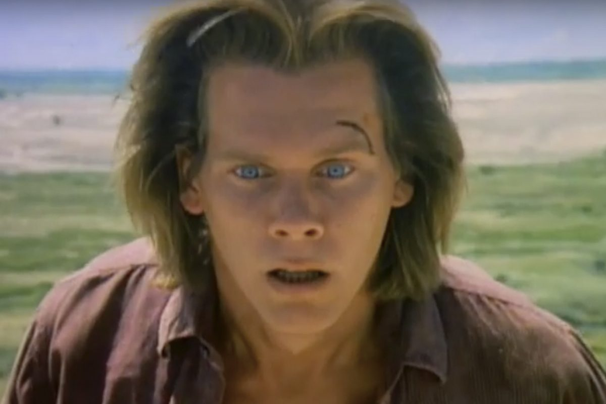 Kevin Bacon as Valentine McKee in 1990's 'Tremors.'