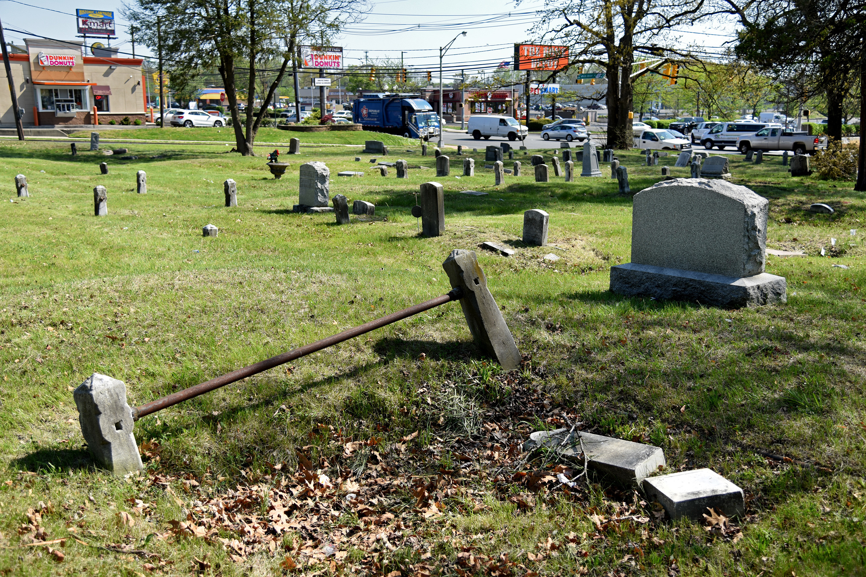 A clean-up is planned for Saturday at the Mount Peace Cemetery in Lawnside.