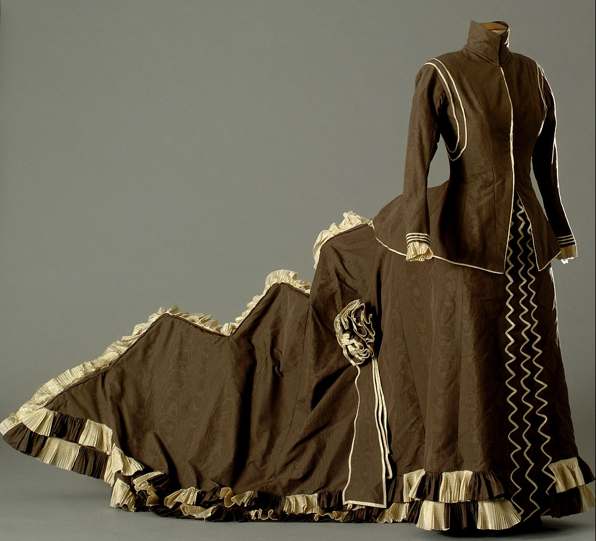 "Reproduction by Claude Autant-Lara of Catherine Hessling's dress by from Jean Renoir's 1926 film ""Nana"" (1984)"