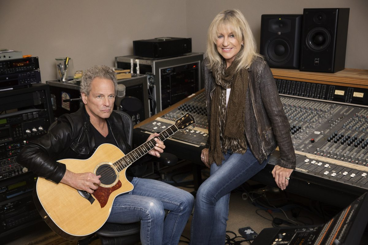 Lindsey Buckingham Christine McVie will perform June 30 at the Mann.Center for the Performing Arts