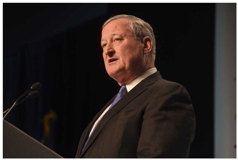 Mayor Kenney  discussed plans for a pre-apprenticeship program being launched as part of the Rebuild initiative.