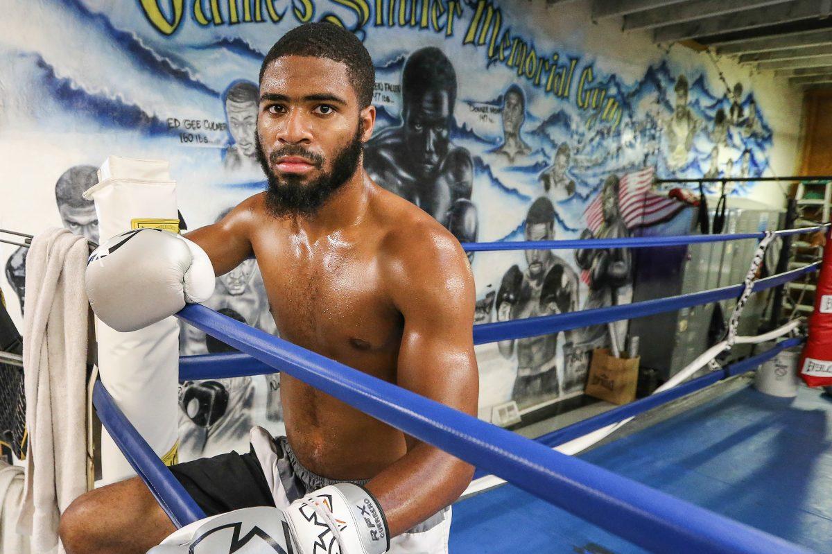 Stephen Fulton trains at the James Shuler Boxing Gym in West Philadelphia.