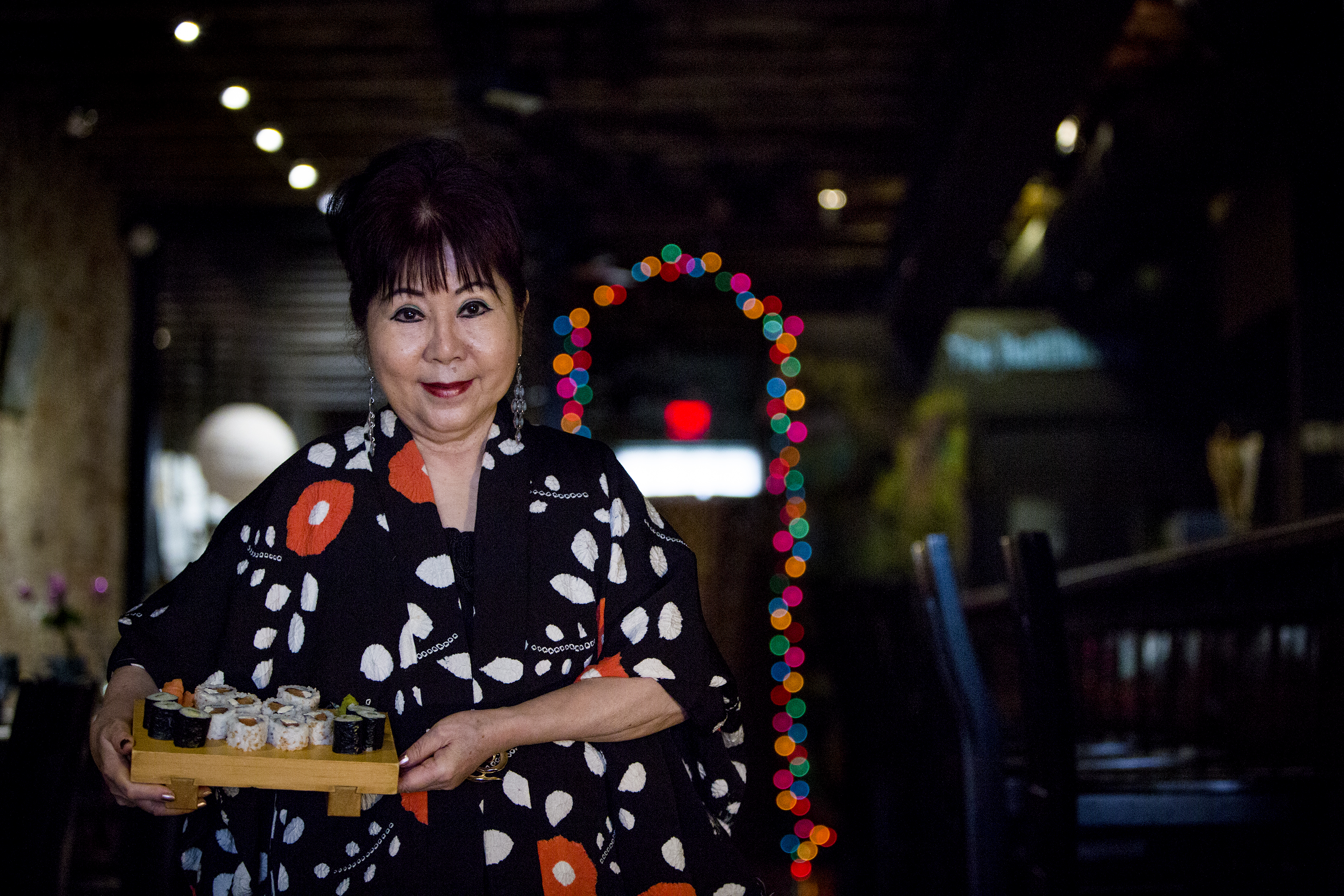 "Madame Saito, the ""Queen of Sushi,"" has been serving sushi and teaching classes on how to make it for more than 30 years."