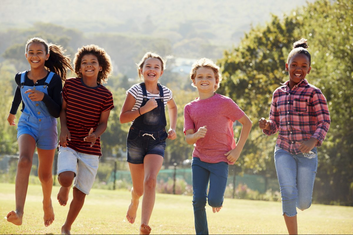 Inspire in your kids a lifetime love of fitness.