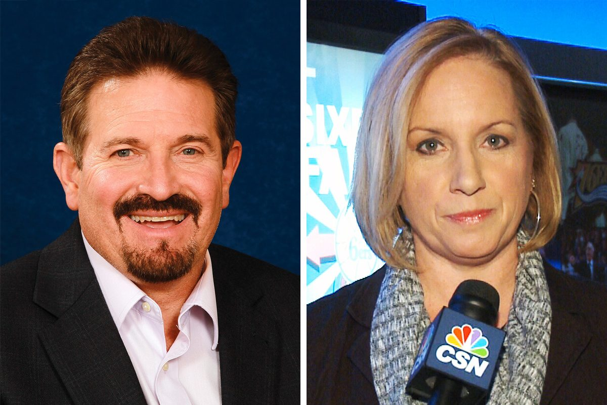 Flyers reporter Tim Panaccio and Sixers reporter Dei Lynam the latest in a series of high-profile exits at Comcast SportsNet.