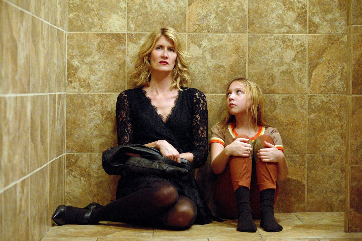 "Laura Dern and Isabelle Nélisse in a scene from ""The Tale,"" premiering on HBO on May 26."