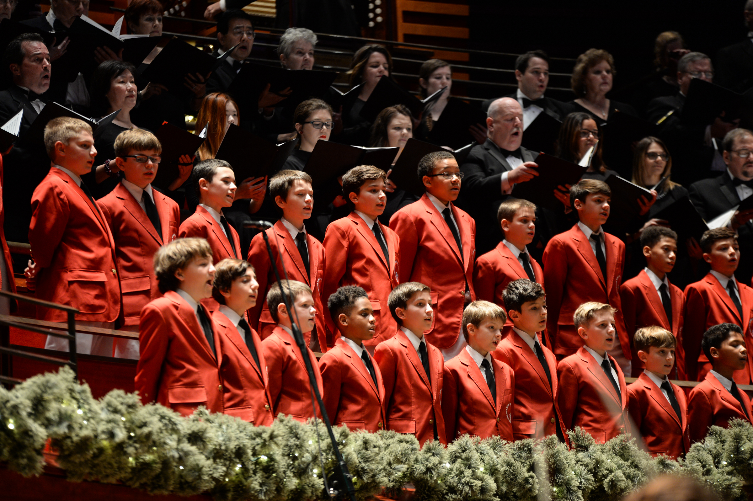 The Philadelphia Boys Choir performed with the Philly POPS at Verizon Hall in the Kimmel Center Dec. 2.