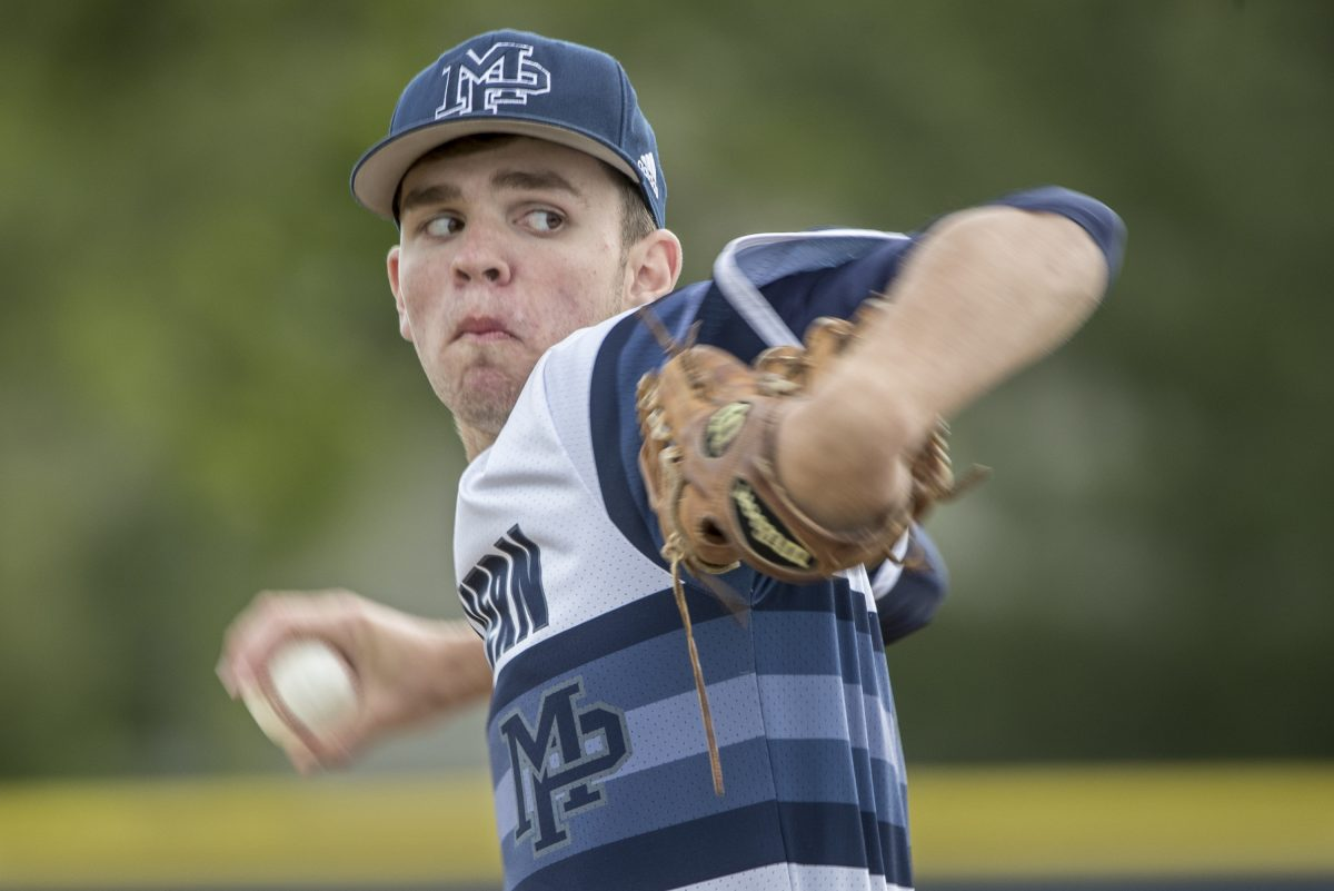 Malvern Prep senior righthander Billy Corcoran was voted the Inter-Ac League's most valuable player.