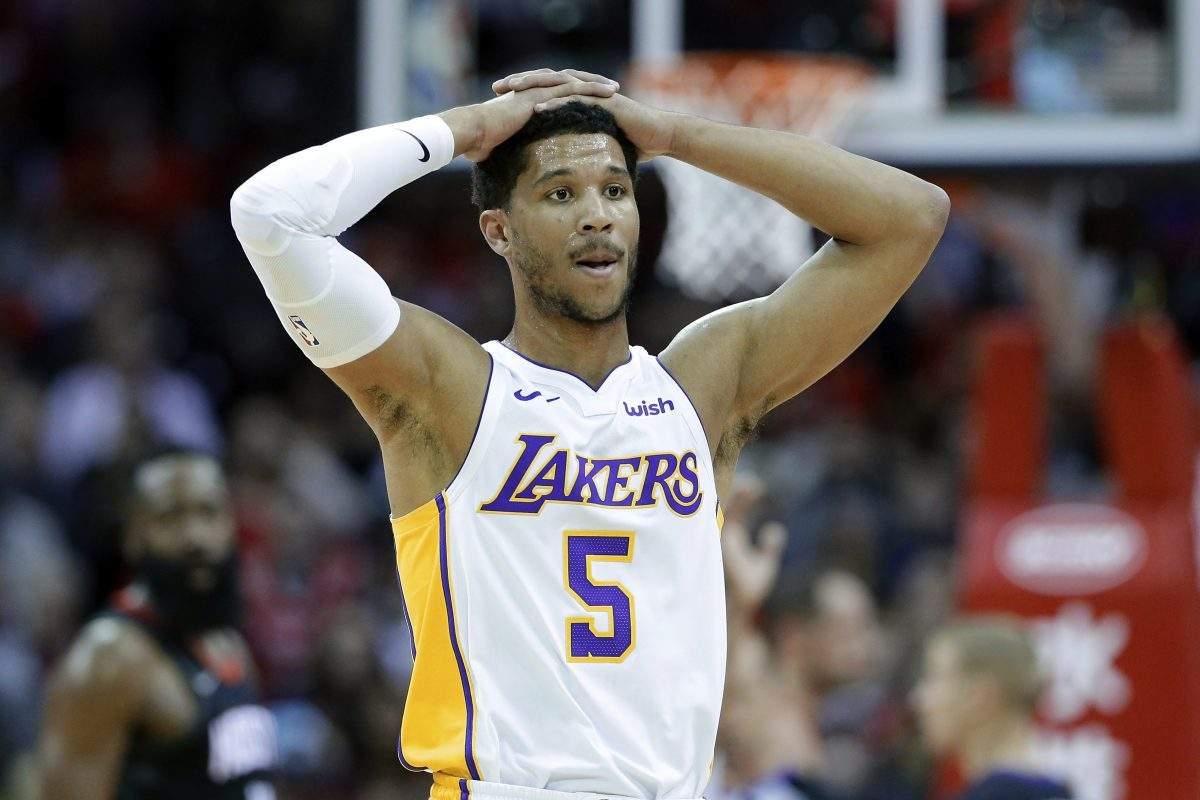 Josh Hart struggled at the start of the season, but after getting his first start in December, he started to blossom. He posted eight double-doubles in his first year and scored 20 or more points in each of his last four games.