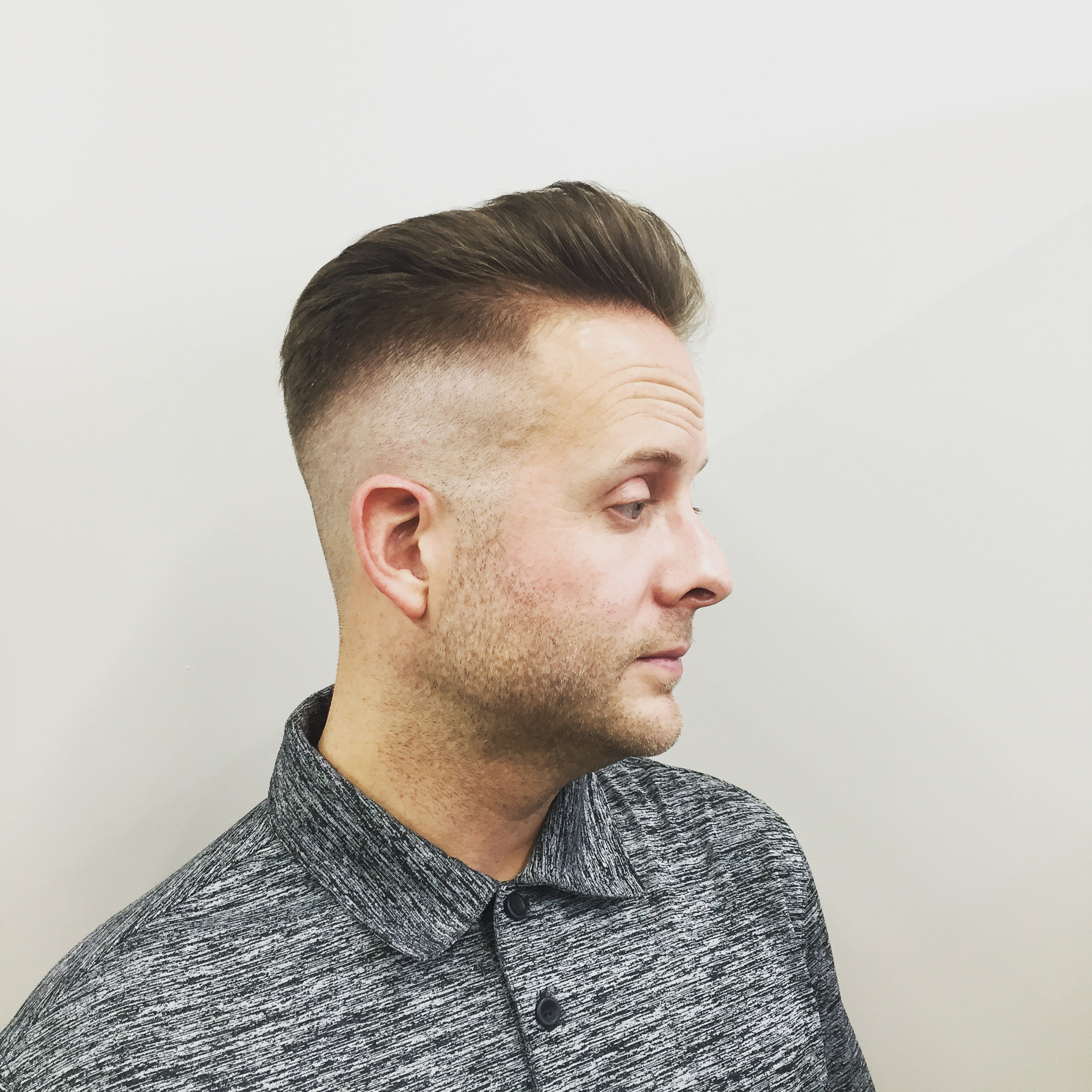 Undercuts are the latest throw it back hair style for summer. On this model is a classic cut courtesy of Alex Masi of Le Reve Salon & Barbershop and Dream Spa in Cherry Hill.