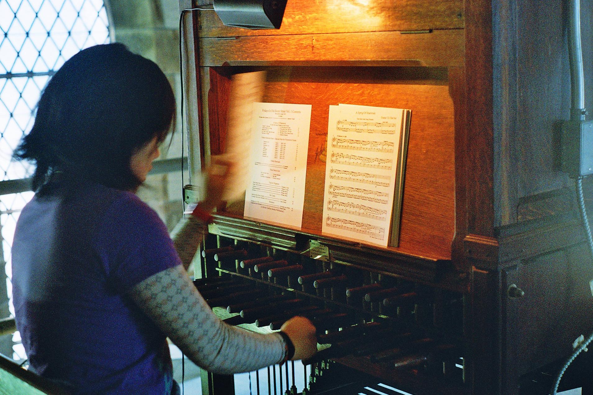 Carillonneur Julie Zhu