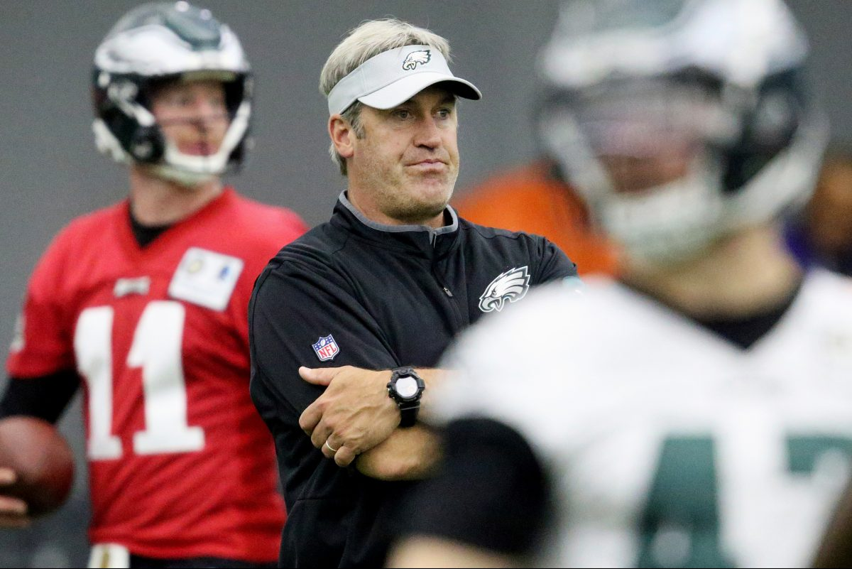 Doug Pederson and Carson Wentz will make the White House visit.