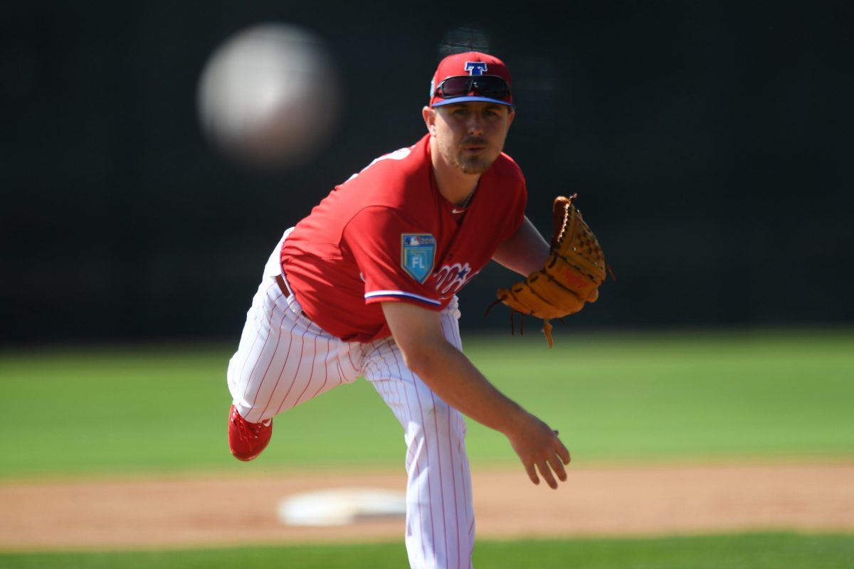 Mark Leiter Jr. has been in the Phillies system since 2013. Throughout the past five years he's seen the organization bolster its pitching.