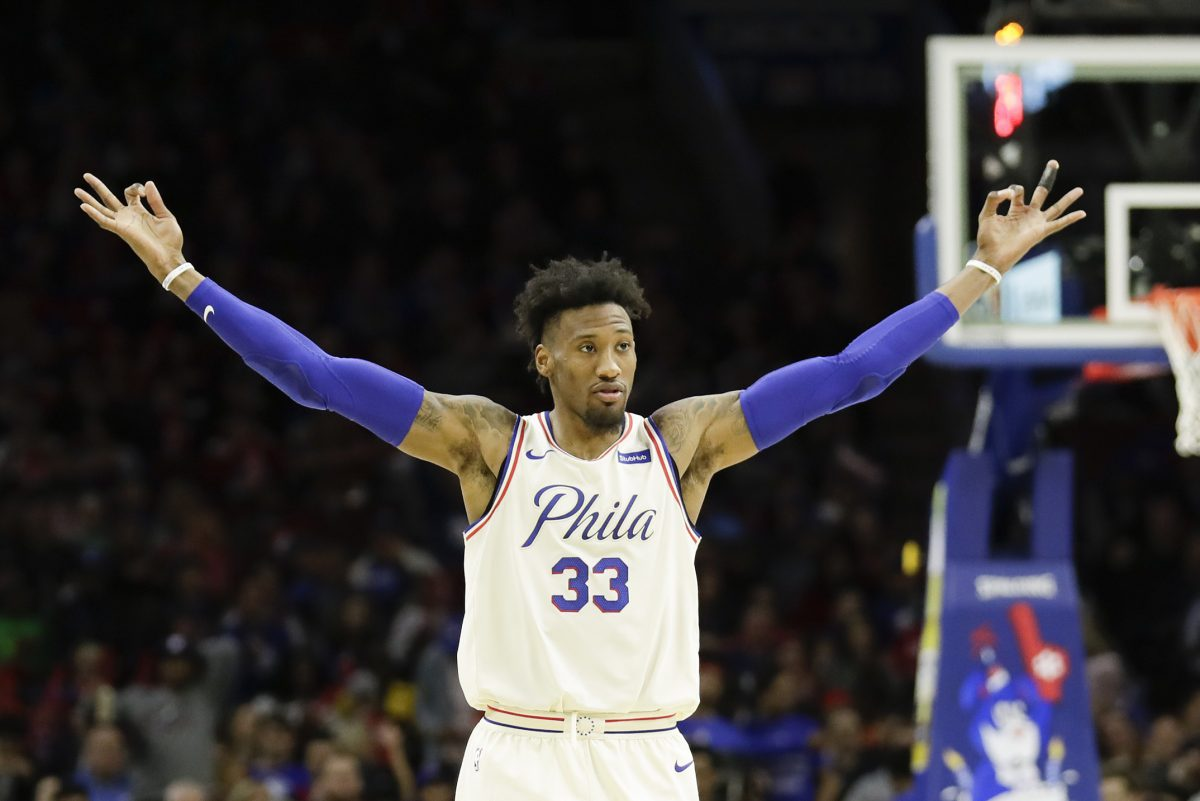 Robert Covington earned 27 all-defensive first-team votes.